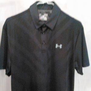 Under Armour Athletic Polo Style Shirt (M)